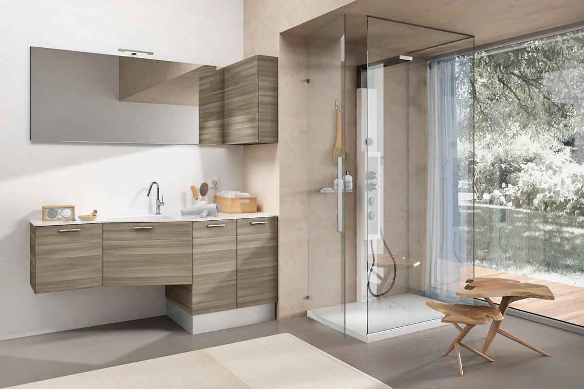 Mobile Bagno Con Colonna Lavatrice minerva: l'arredo bagno per la tua lavanderia | edoné