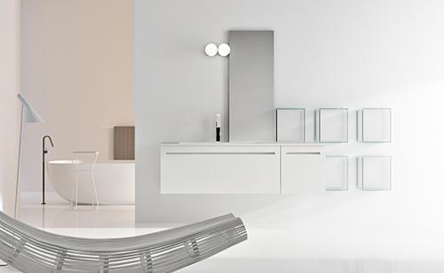 Bagno Stile Minimalista : Un bagno dallo stile minimalista mobili di prestigio