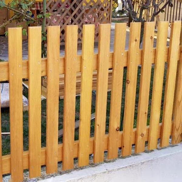 Legni per esterno trattamento in autoclave o for Staccionata in legno brico